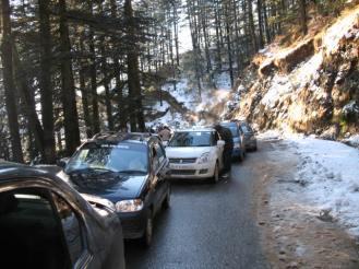 Shimla and kasauli, new year 199