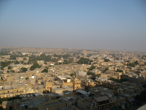 Morning view, Jaisalmer