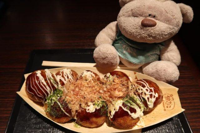 Delicious Takopachi 550 yen for 8