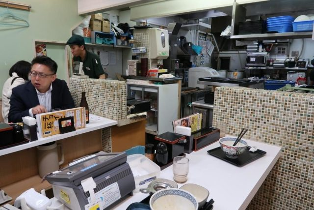 Inside Yoshinoya Akihabara