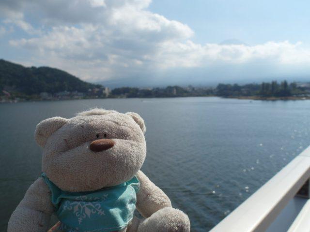 View of Mount Fuji from Kawaguchi-machi Bridge