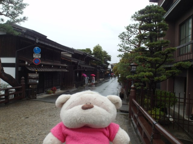 Takayama Preservation Area from Edo Period