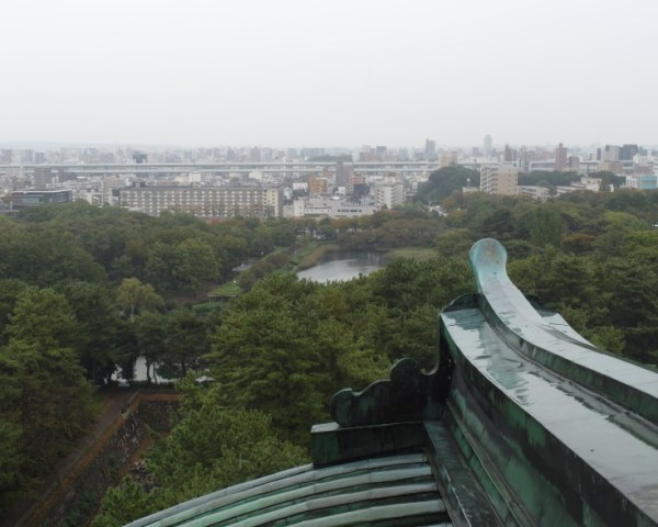 Views from top of Nagoya Castle