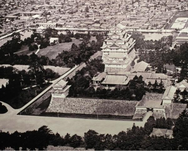 Photo of original Nagoya Castle before destruction during WW2