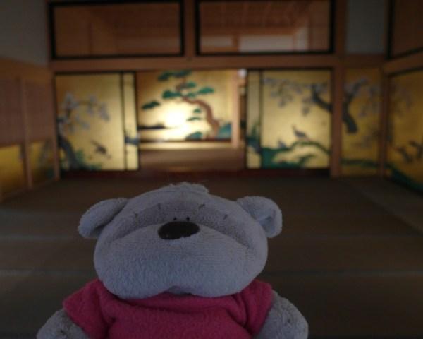 2bearbear in Honmaru Palace