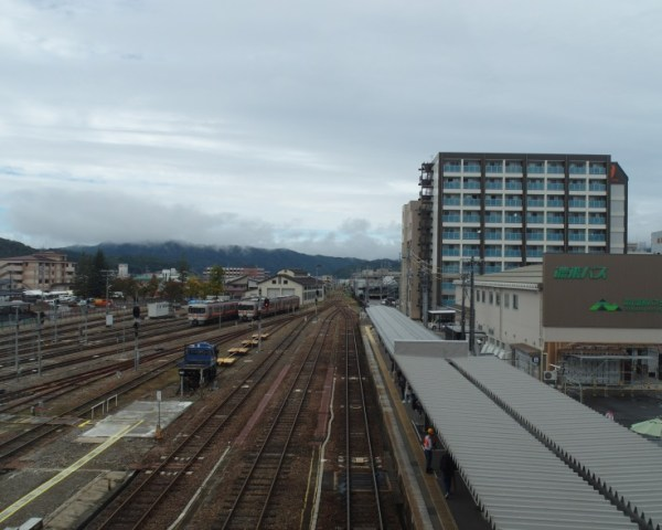 Takayama JR Train Station