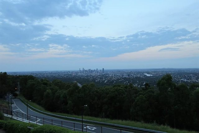 View from Mount Coot-tha Lookout Pavilion