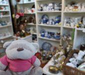 Glasswares Paddington Antique Centre
