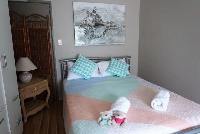 Bedroom of Noosa Heads Home