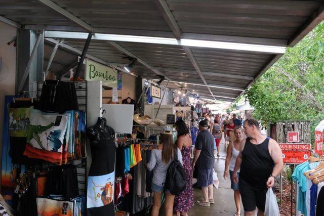 Shopping at Eumundi Markets
