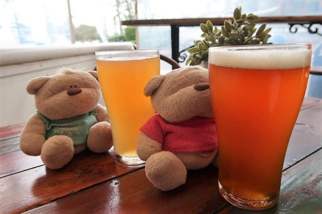 Psychotic Girl IPA and Citrus IPA from Moffat Beach Brewing Co.