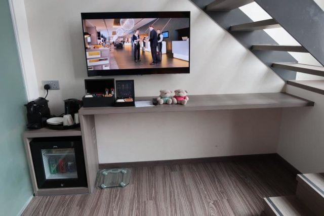 Downstairs of Executive Loft Room of Mercure Singapore Bugis