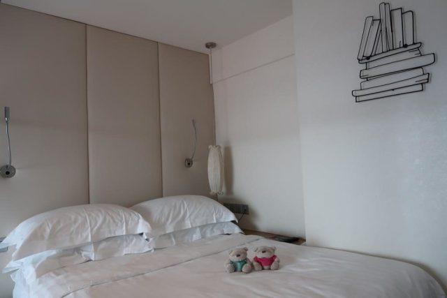 Loft Bedroom of Executive Loft Room Mercure Bugis Singapore