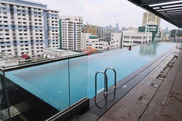 25m Infinity Pool at Mercure Singapore Bugis
