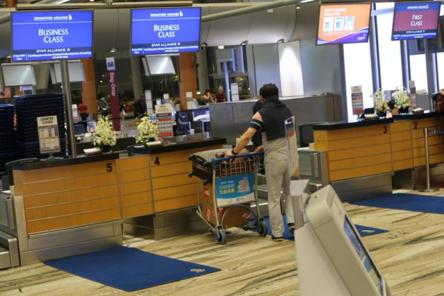 Singapore Airlines Business Class Check-In