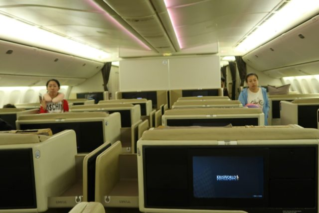 Singapore Airlines Business Class Seats (777-300ER)