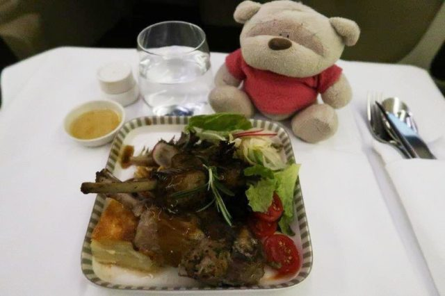 Roast Lamb Chop Singapore Airlines Book the Cook