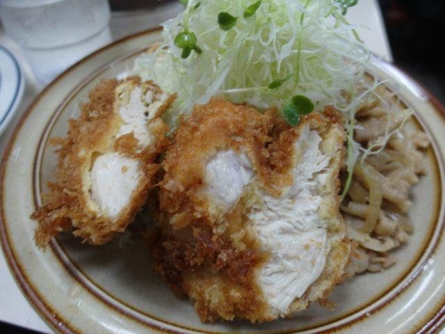 Katsu Chicken with Stir Fried Pork