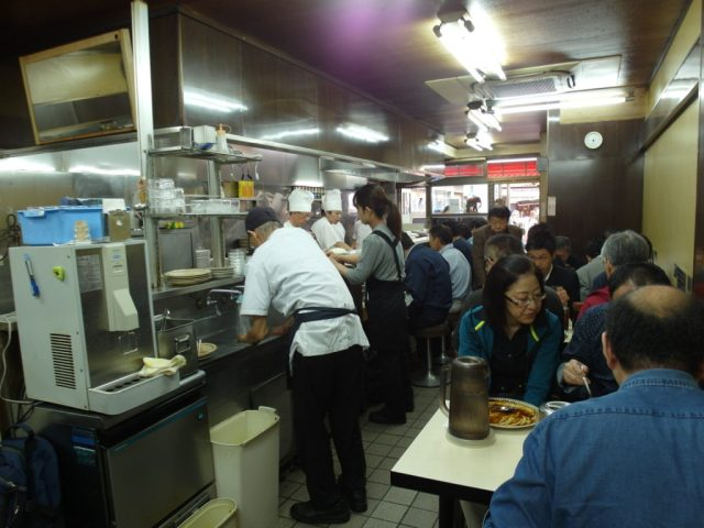 Inside the Curry Katsu Restaurant - Kitchen Nankai 南海