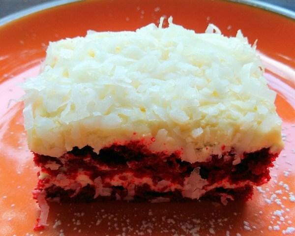 The Pelican Sunday Brunch Desserts: Red Velvet Cake