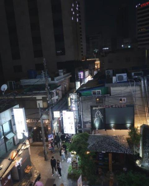 View from room of Home Hotel Busan