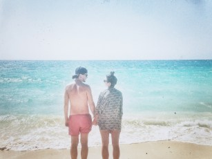 Playa Blanca scorched my skin