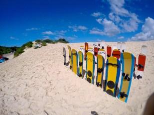 Sandboarding, Florianopolis