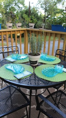 Painted Wrought Iron Patio Furniture