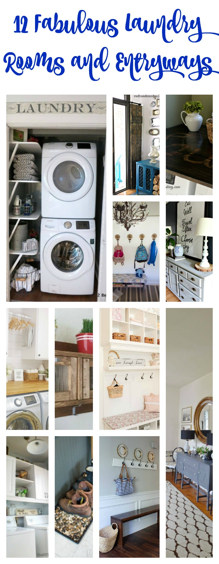 12 Laundry Room And Entry Ideas Diy Housewives Series 2