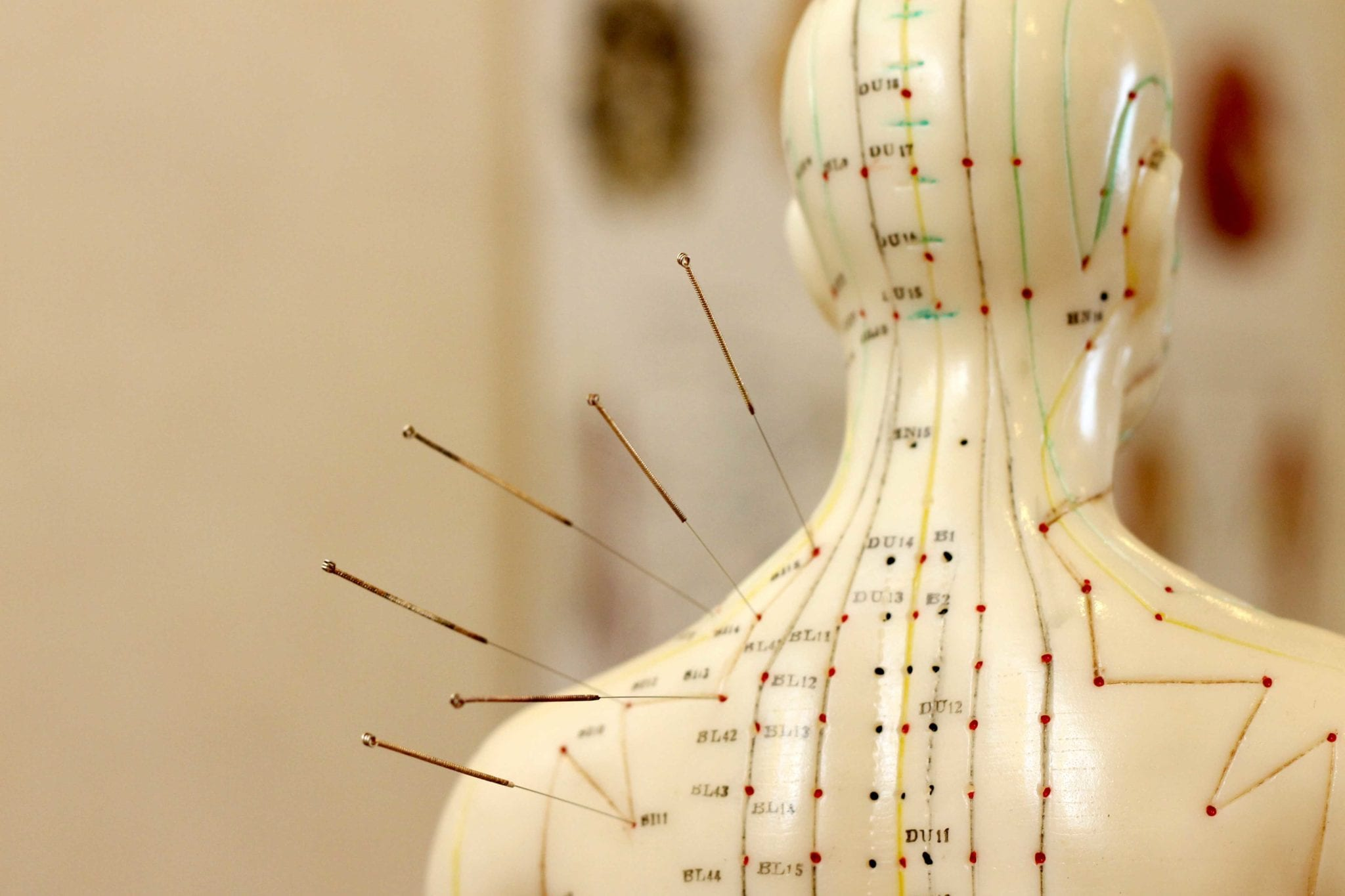 acupuncture points charts and