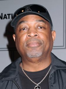Head shot of Chuck D.