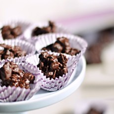 Nuts and Seeds Chocolate Clusters