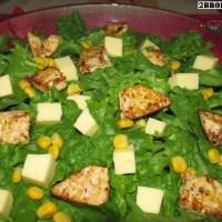 Vegan Σαλάτα του Καίσαρα με Κοτόπουλο
