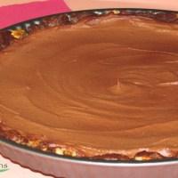 Ωμοφαγική Τούρτα Σοκολάτα Καραμέλα Χωρίς Ζάχαρη