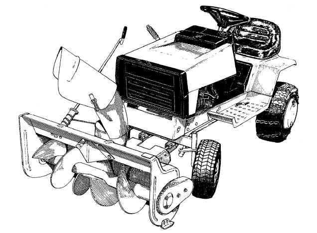 Simplicity Tractor Mower 1690169 36