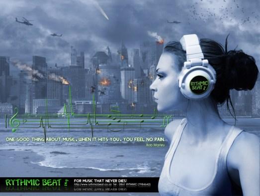 Concept Advert for Rythmic Beat