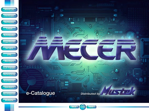 MECER Product Range for Mustek