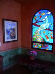 One of Many Stained Glass Windows
