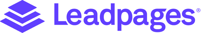 Leadpages logo purple