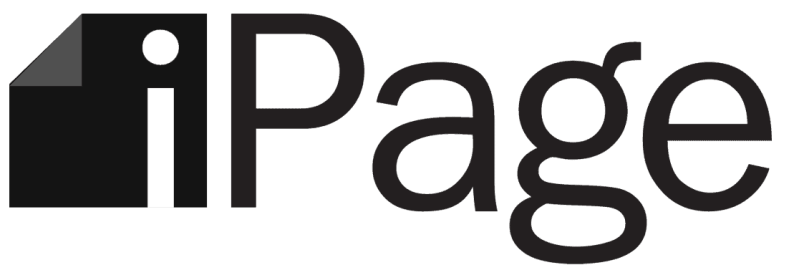 ipage hosting logo text