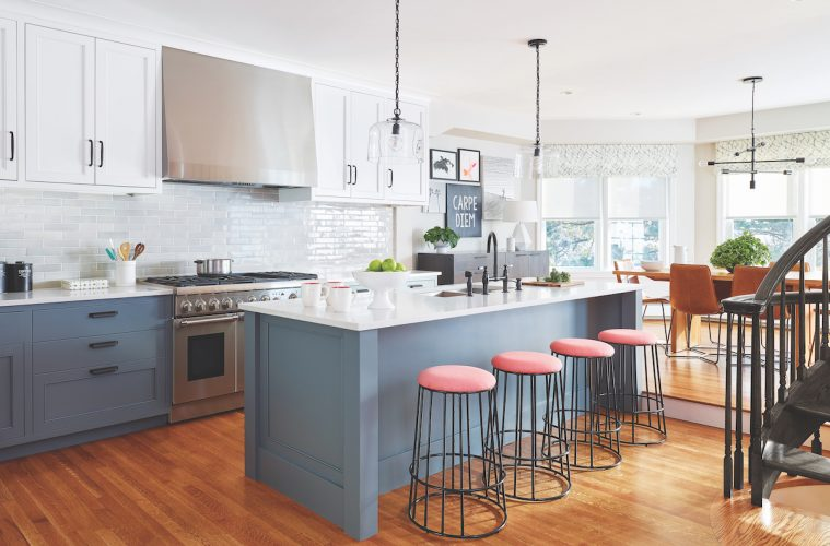 Modern Kitchen in a Traditional Home - Northshore Magazine