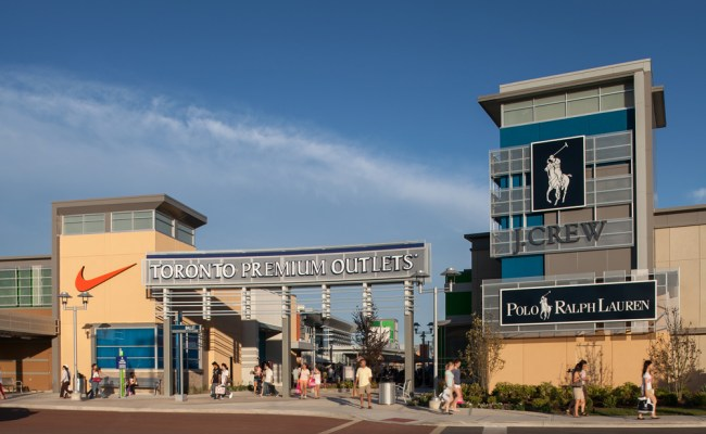 About Toronto Premium Outlets A Shopping Center In