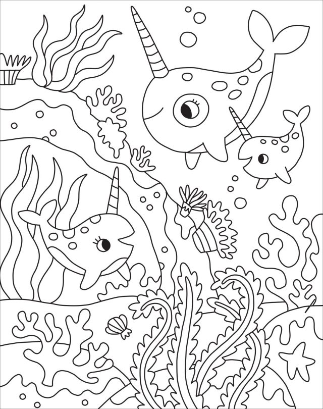 Kaleidoscope: Too Cute! Coloring Downloadable - Silver Dolphin Books