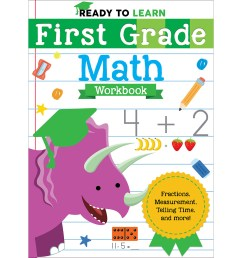 Ready to Learn: First Grade Workbook Activity Pages - Silver Dolphin Books [ 1200 x 1200 Pixel ]