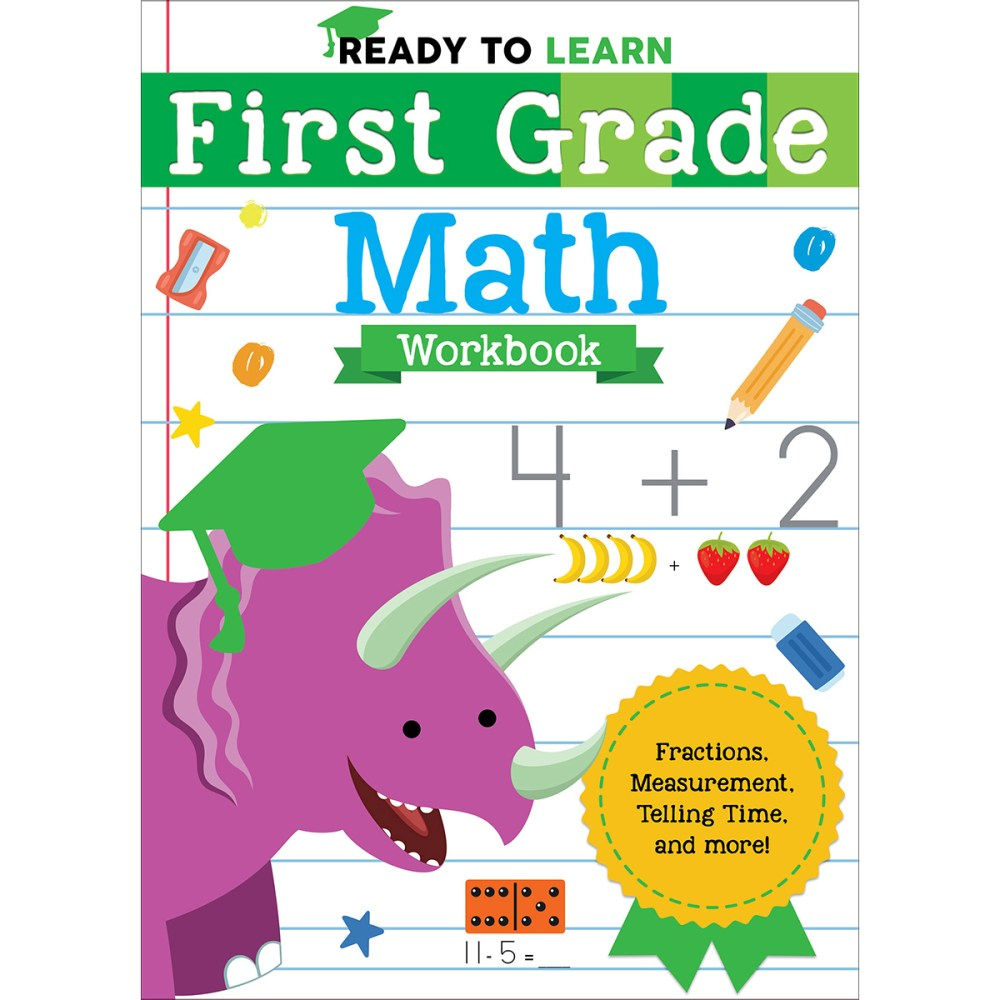 medium resolution of Ready to Learn: First Grade Workbook Activity Pages - Silver Dolphin Books