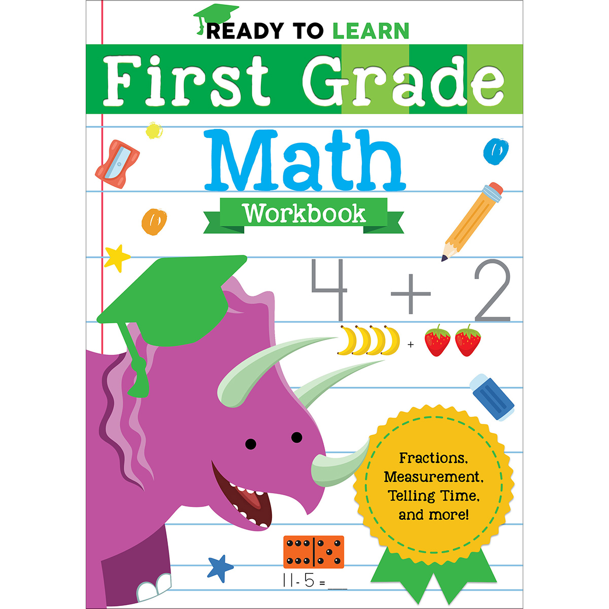 hight resolution of Ready to Learn: First Grade Workbook Activity Pages - Silver Dolphin Books