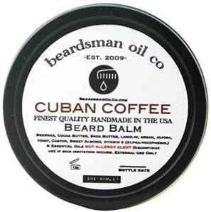 Beardsman Oil Co Beard Balm- Cuban Coffee 2oz