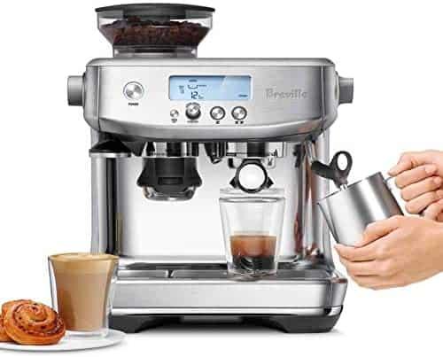 Breville the Barista Pro BES878 Espresso Machine with Burr Grinder