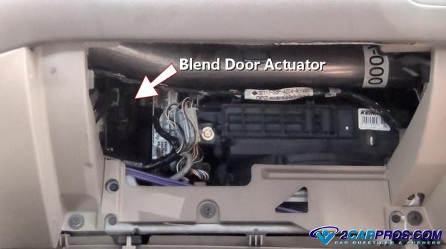 99 nissan altima wiring diagram lungs circulatory system labeled how to replace a blend door actuator in under 15 minutes