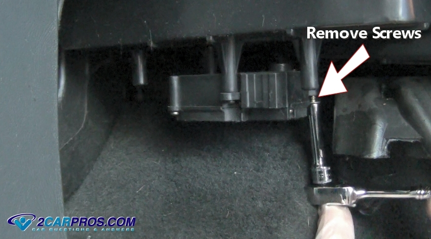 03 Trailblazer Wiring Diagram How To Replace A Blend Door Actuator In Under 15 Minutes